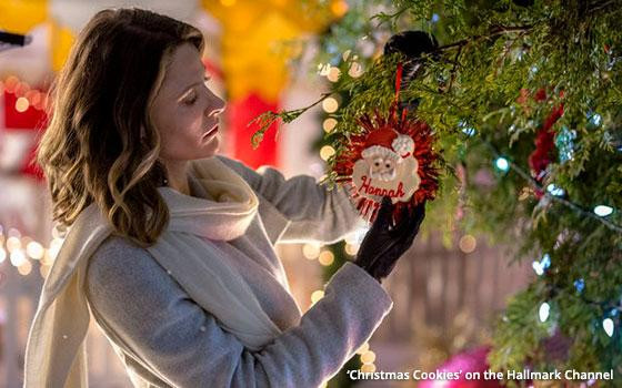 Christmas Cookies Hallmark Movie 2019  Christmas Cookies Are The Brand Menu At Hallmark