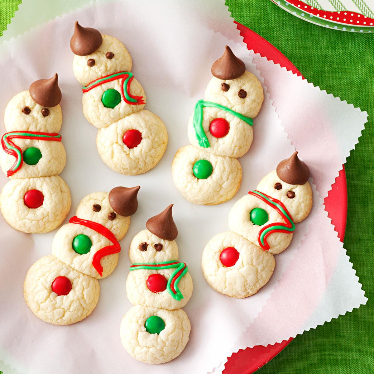 Christmas Cookies Ideas  Snowman Cookies Recipe