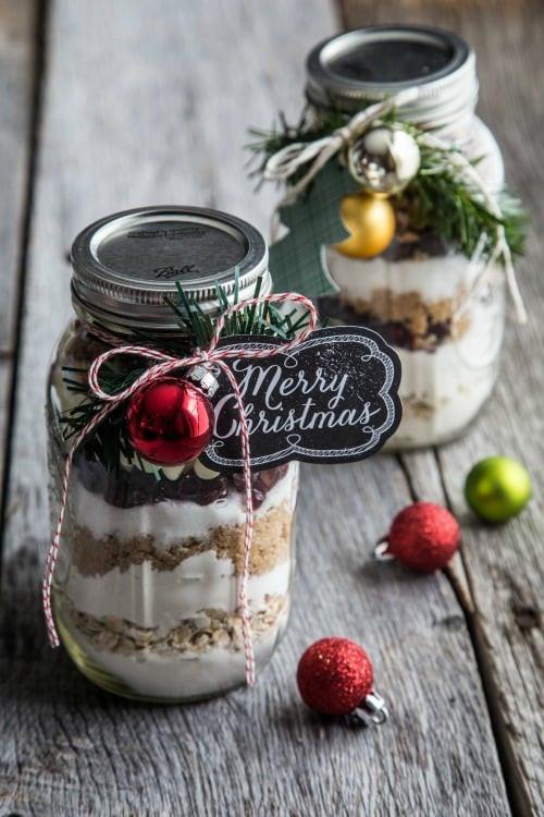 Christmas Cookies In Ajar  Cranberry Cookies in a Jar