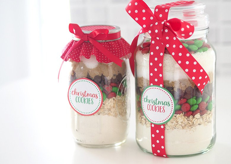 Christmas Cookies In Ajar  Gift Idea Christmas Cookie Mix in a Jar The Organised