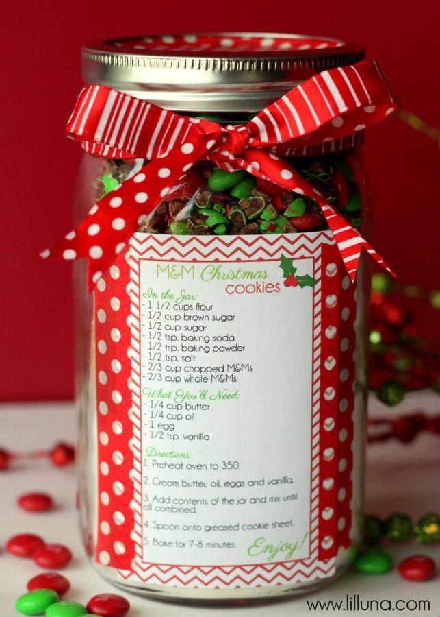 Christmas Cookies In Ajar  Christmas Cookie Jar Gift Idea