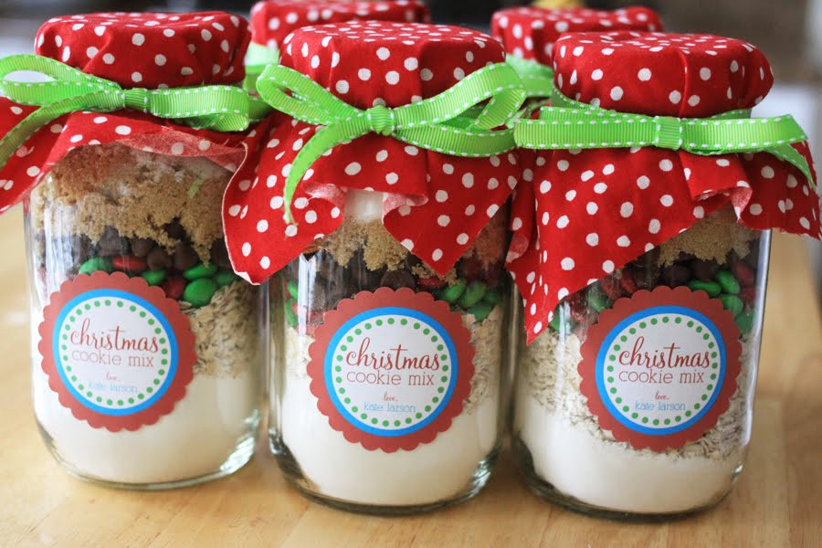 Christmas Cookies In Ajar  The Larson Lingo Christmas Cookies in a Jar Free Printable