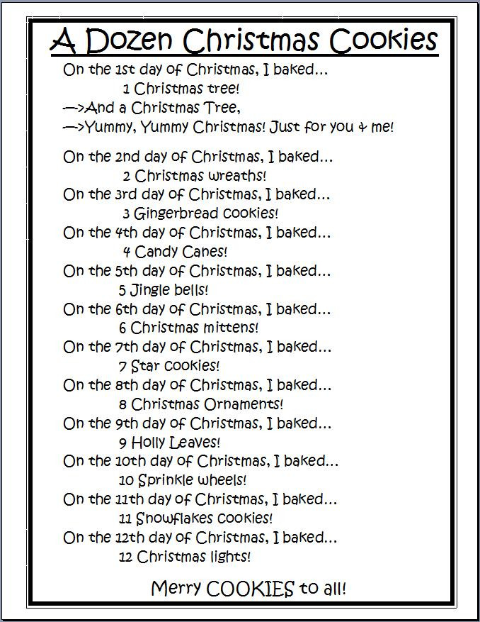 Christmas Cookies Lyrics  The Kinder Queendom December 2011