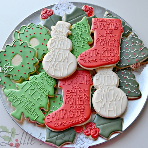 Christmas Cookies Lyrics  Easy Elegant Christmas Cookies