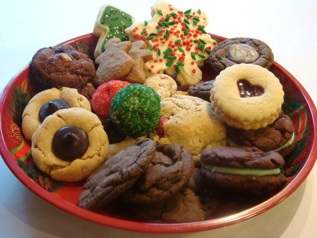 Christmas Cookies Plates  cookie plate