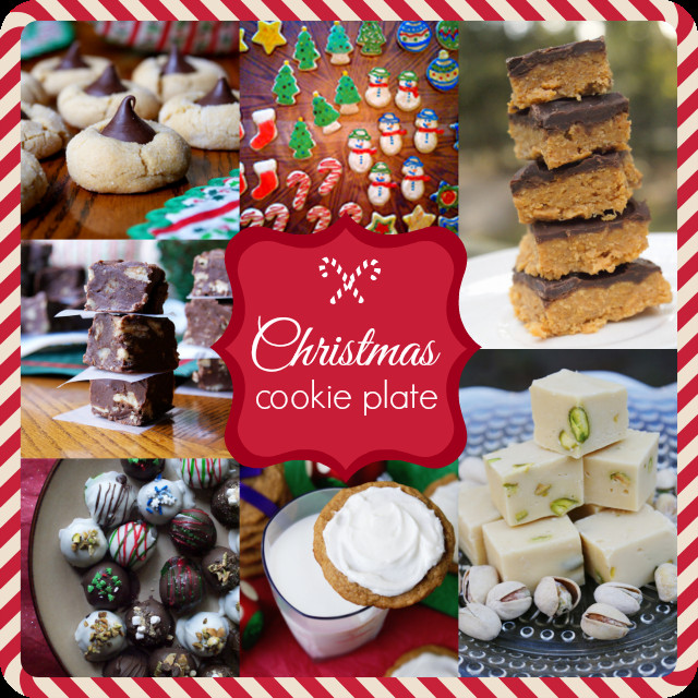 Christmas Cookies Plates  Christmas Cookie Plate Collection