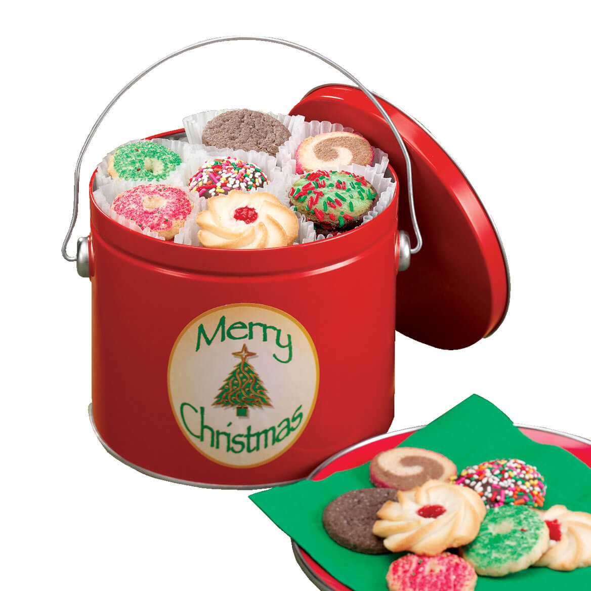 Christmas Cookies To Buy  Christmas Cookie Tin Christmas Cookies In A Tin Miles