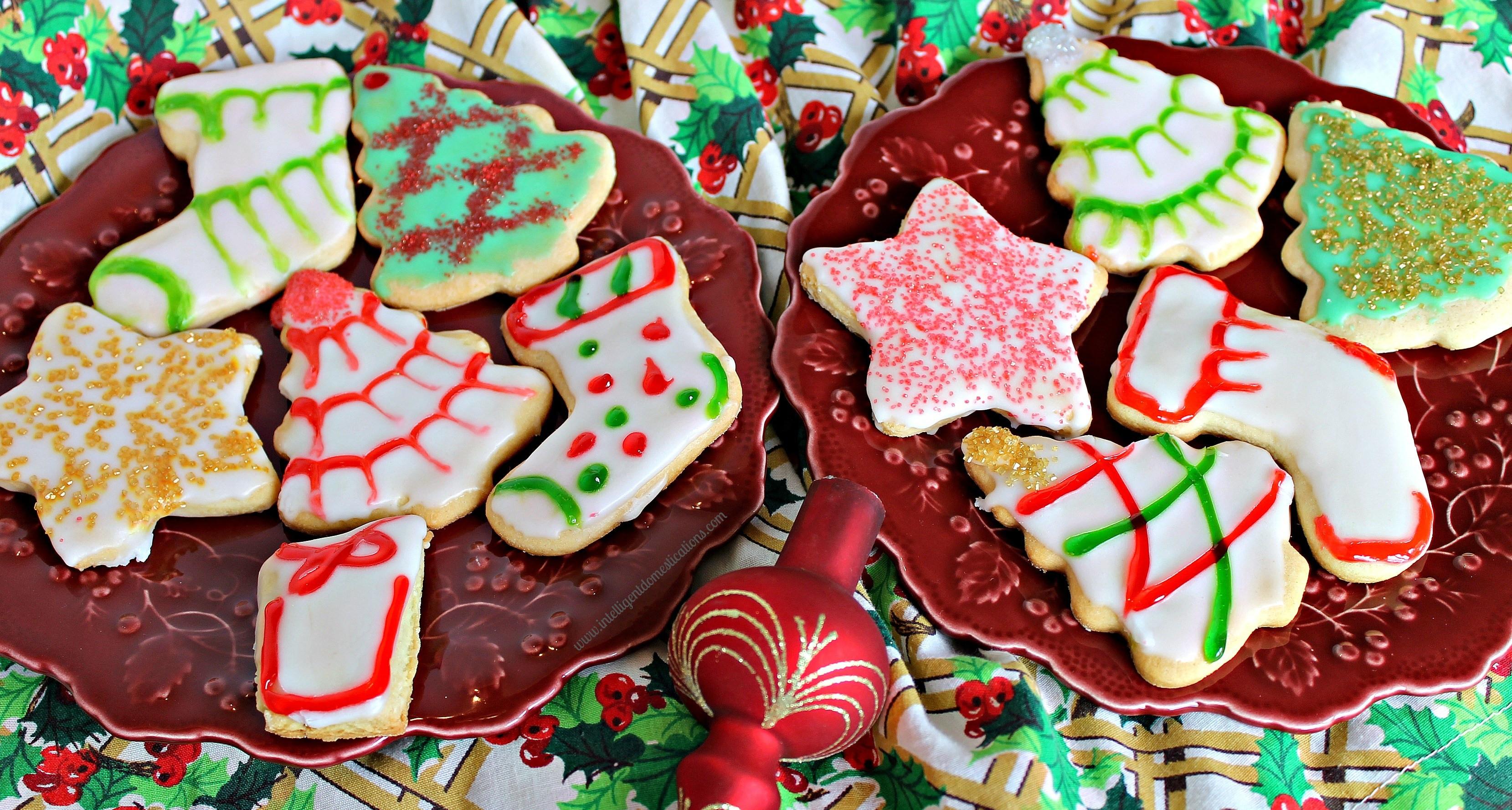 Christmas Cookies To Buy  Old Fashioned Tea Cake Christmas Cookies