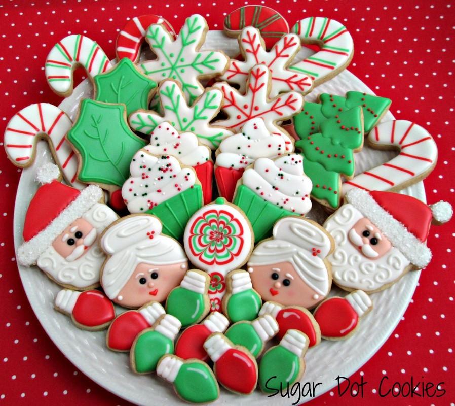 Christmas Cookies To Buy  Order Christmas Winter Sugar Cookies Custom Decorated