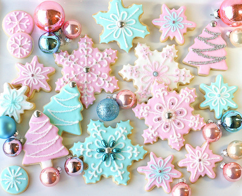 Christmas Cookies Tumblr  Pastel Christmas Cookies s and for