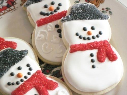 Christmas Cookies Tumblr  snowmen cookies on Tumblr