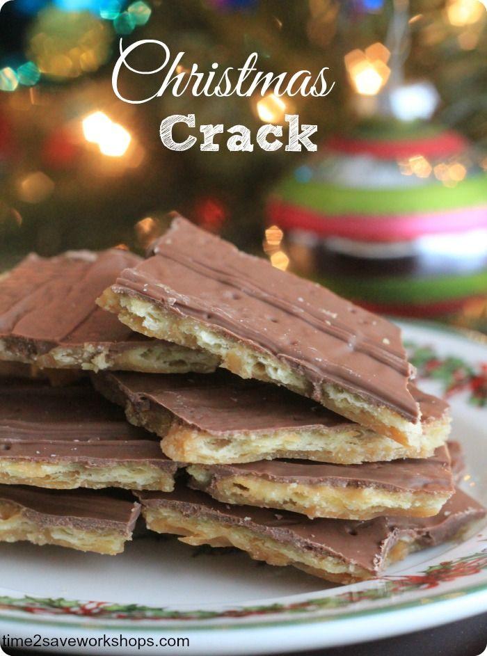 Christmas Crack Recipe With Ritz Crackers  Christmas Crack Cookie Bites Recept