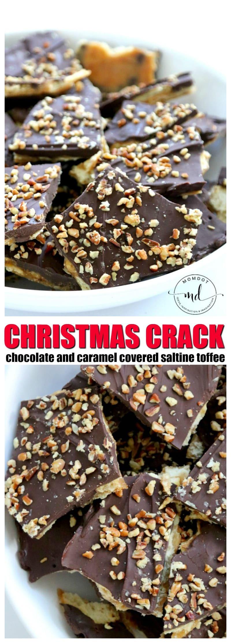 Christmas Crack Recipe With Ritz Crackers  Christmas Crack Ritz Cracker Toffee MomDot howlDb