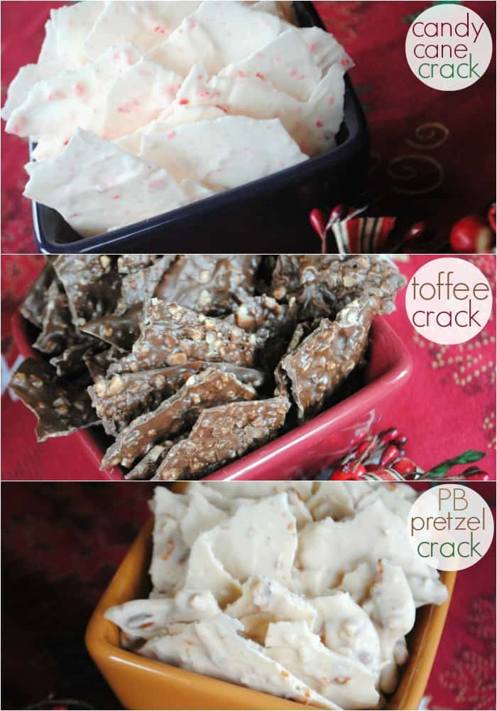 Christmas Crack With Pretzels  Holiday Candy Crack Three ways Shugary Sweets