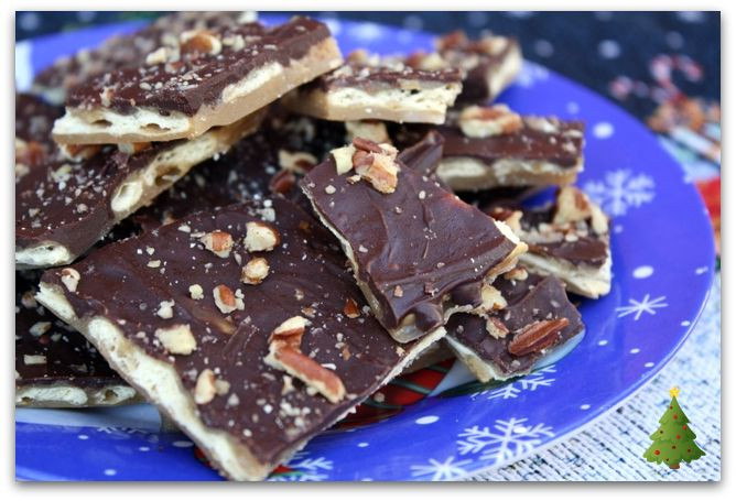 Christmas Cracker Candy  Mommy s Kitchen Recipes From my Texas Kitchen Saltine
