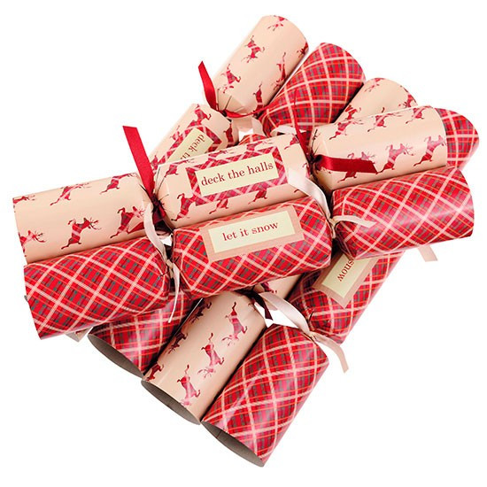 Christmas Crackers Uk  Tartan and Stag crackers from Next