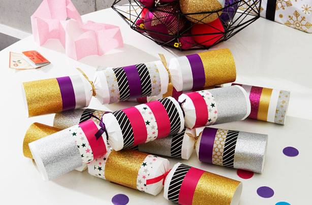 Christmas Crackers Uk  Make your own christmas crackers goodtoknow