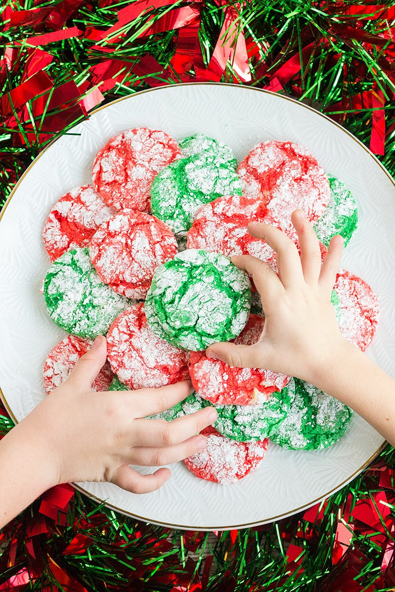 Christmas Crinkle Cool Whip Cookies  Christmas Crinkle Cool Whip Cookies • Bread Booze Bacon