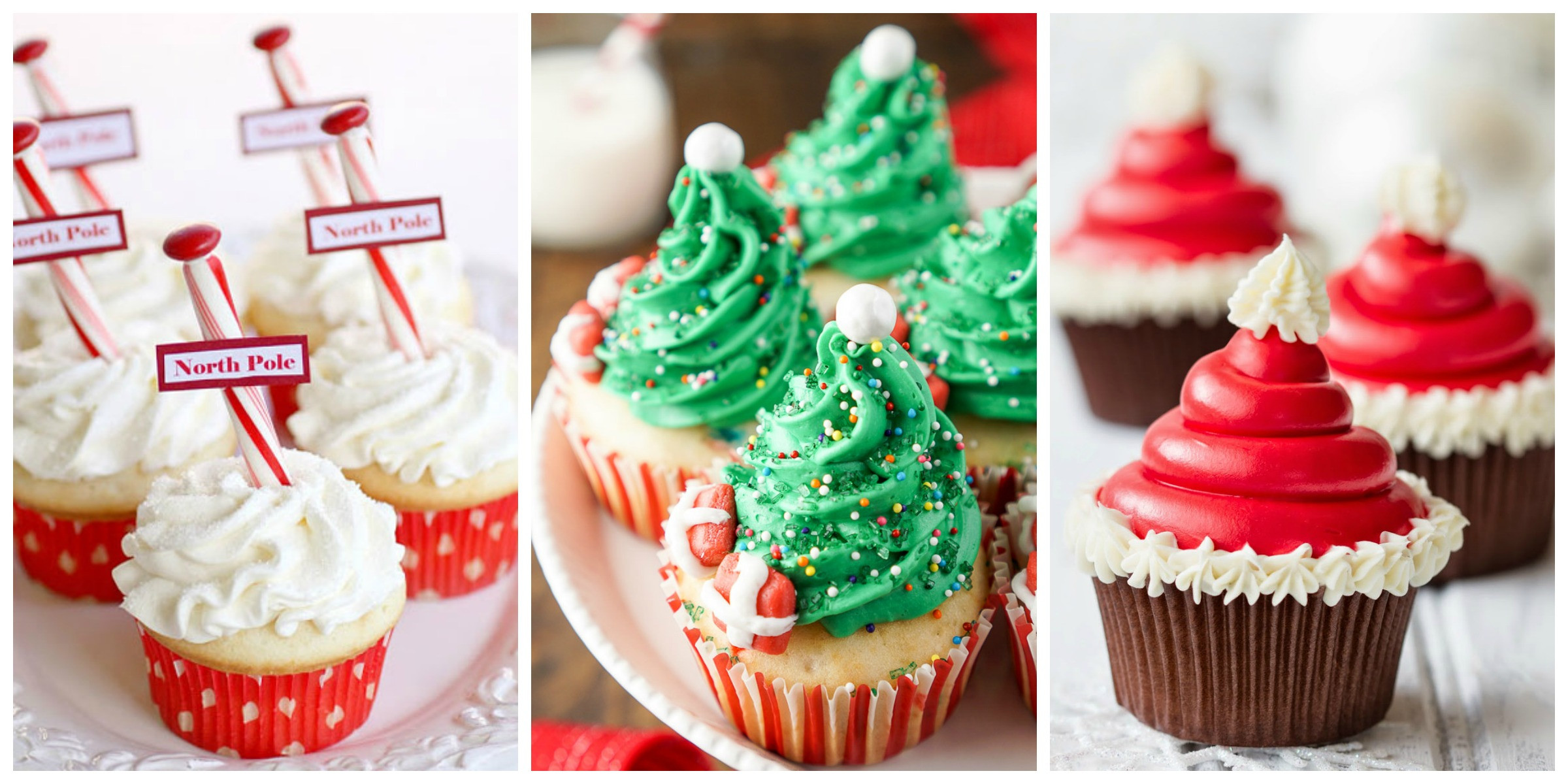 Christmas Cup Cakes Designs  19 Christmas Cupcakes Cupcake Decorating Ideas