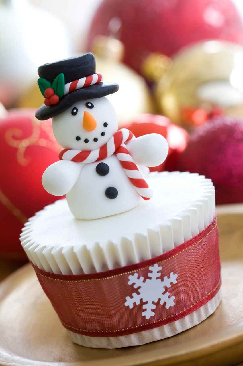 Christmas Cup Cakes Designs  Christmas Cupcake Ideas