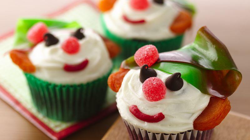 Christmas Cup Cakes Designs  Red Velvet Holiday Elf Cupcakes Recipe BettyCrocker