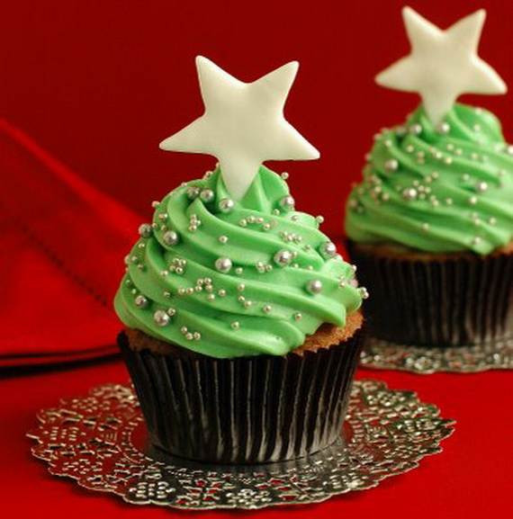 Christmas Cupcakes Images  Easy Christmas Cupcake designs and Decorating Ideas