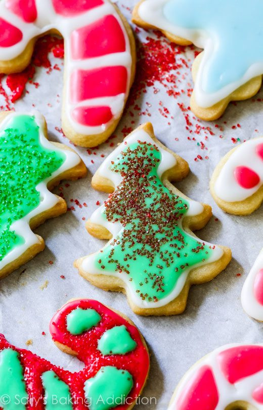 Christmas Cut Out Sugar Cookies Recipes  Holiday Cut Out Sugar Cookies with Easy Icing Sallys