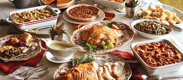 Christmas Dinner Catering  Thanksgiving Dinner Catering & Meals To Go Cracker Barrel