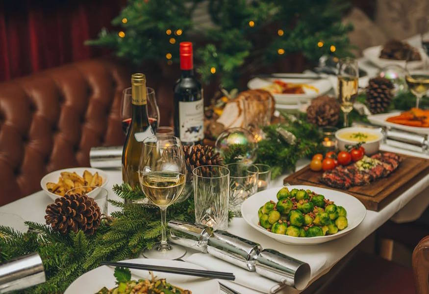 Christmas Dinner Catering  Christmas Dinner In London Where To Eat In The Capital