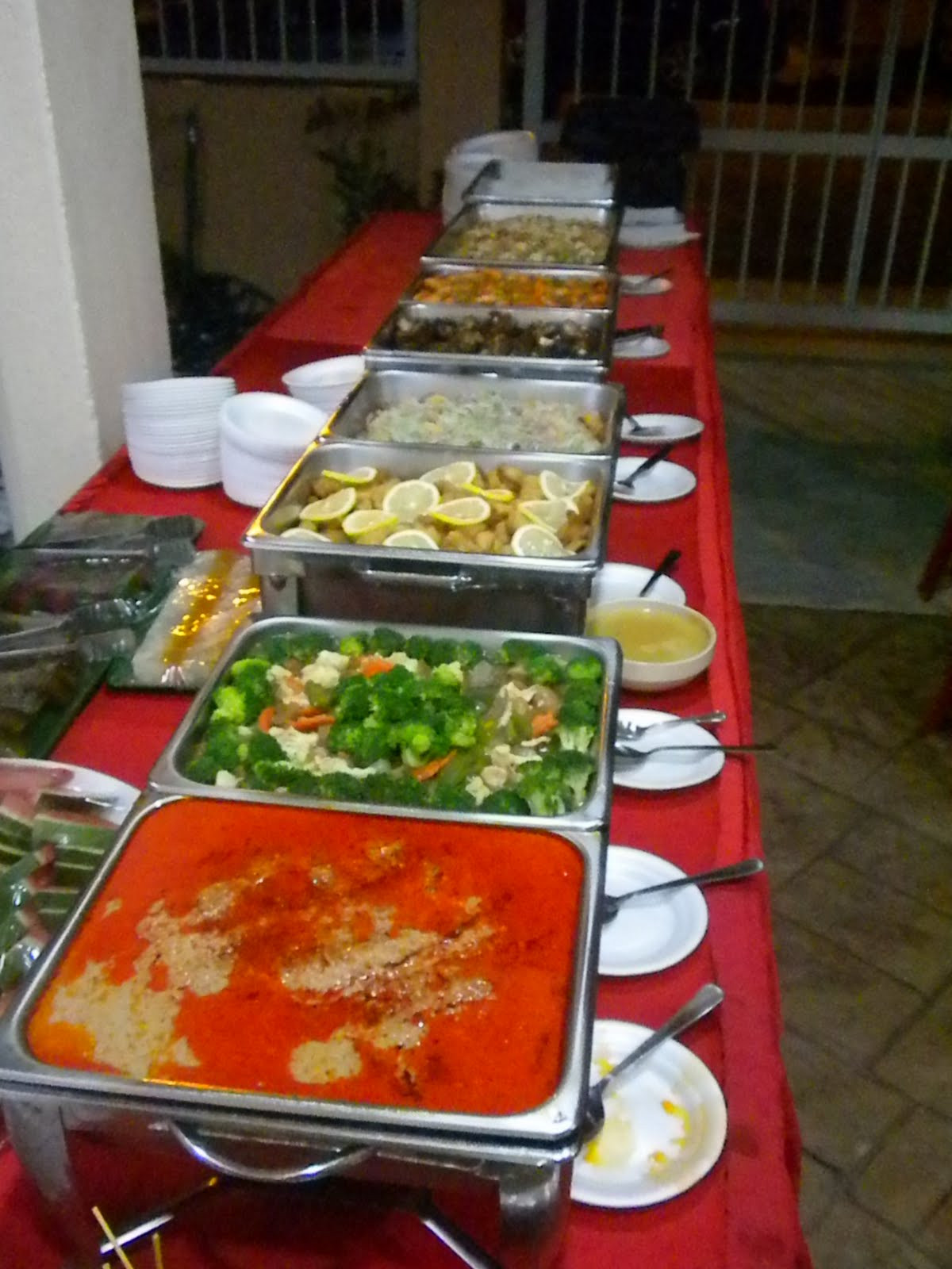 Christmas Dinner Catering  Alf s Creative Food Catering Services and Event Management