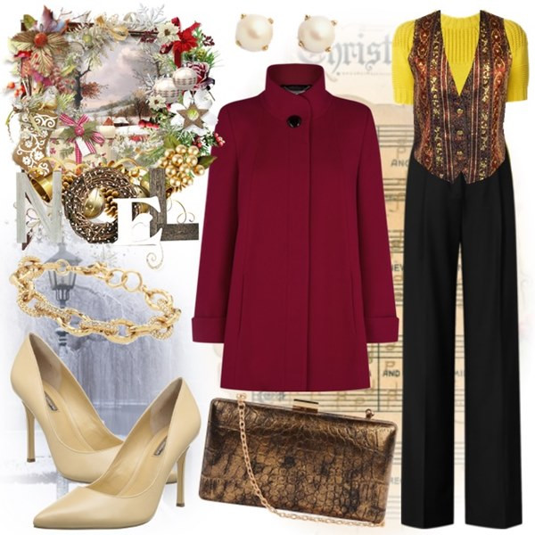 Christmas Dinner Outfit  10 Flattering Christmas Party and New Year s Eve Outfit