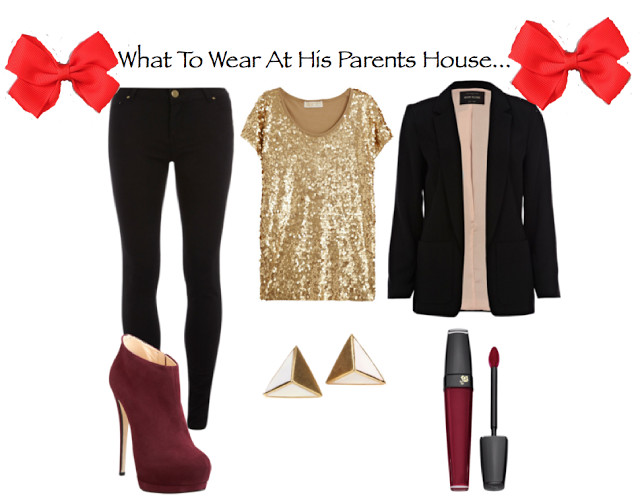 Christmas Dinner Outfit  Dress To Impress His Parents For Christmas Dinner My