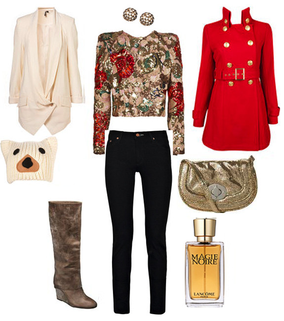 Christmas Dinner Outfit  The Jetsetter in Style What to Wear 2011 Holiday Edition