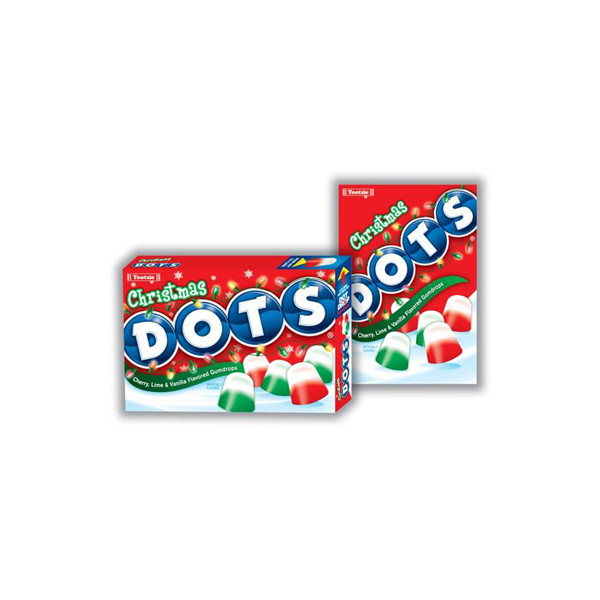 Christmas Dots Candy  Christmas Dots Candy 5LB Box