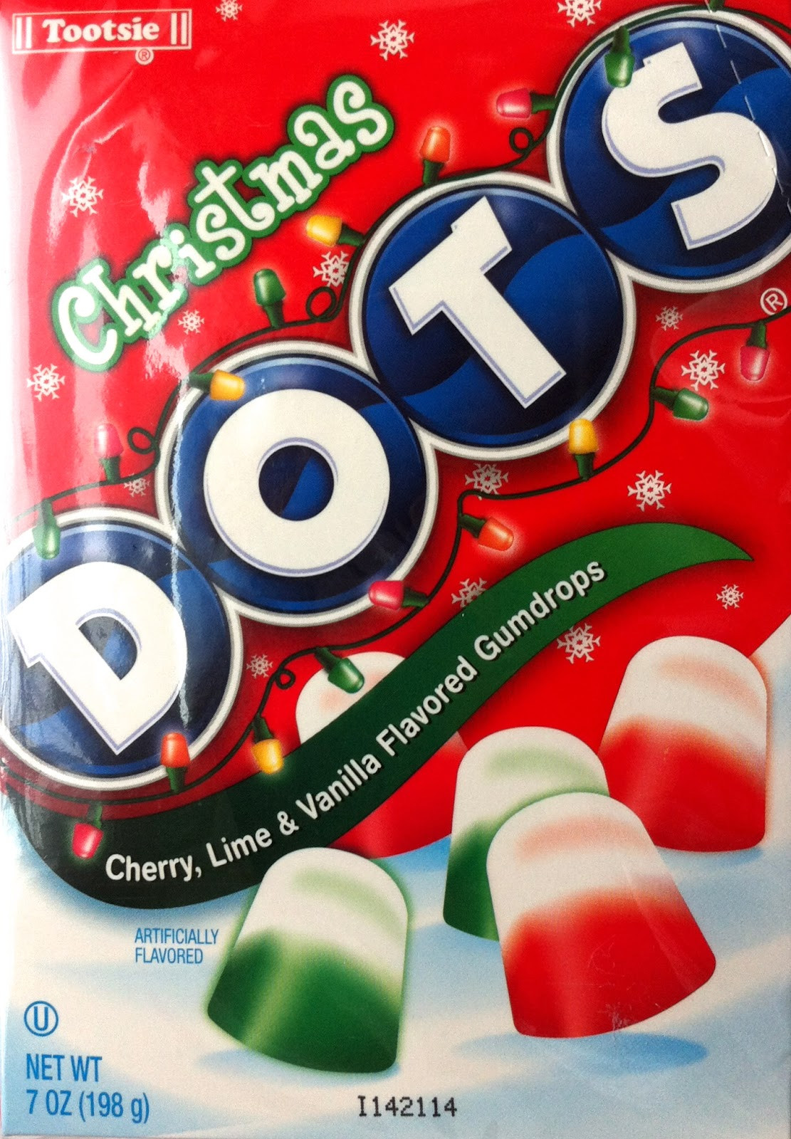 Christmas Dots Candy  Obsessive Sweets December 2012