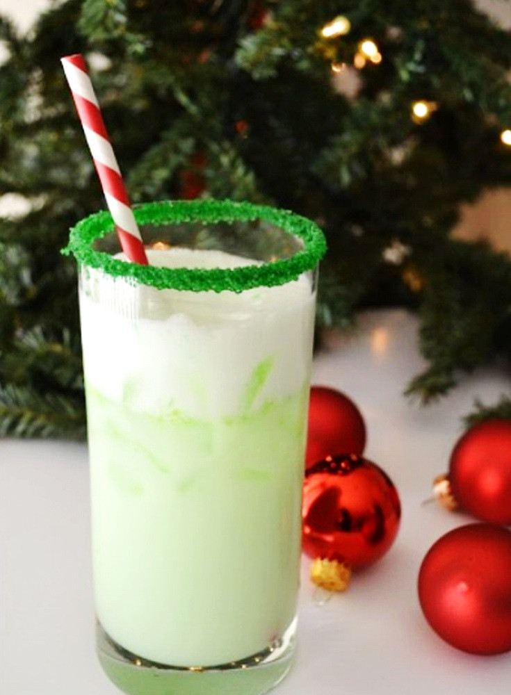 Christmas Drink Recipes With Alcohol  Christmas Elf Cocktail – Cheap Holiday Alcoholic Party