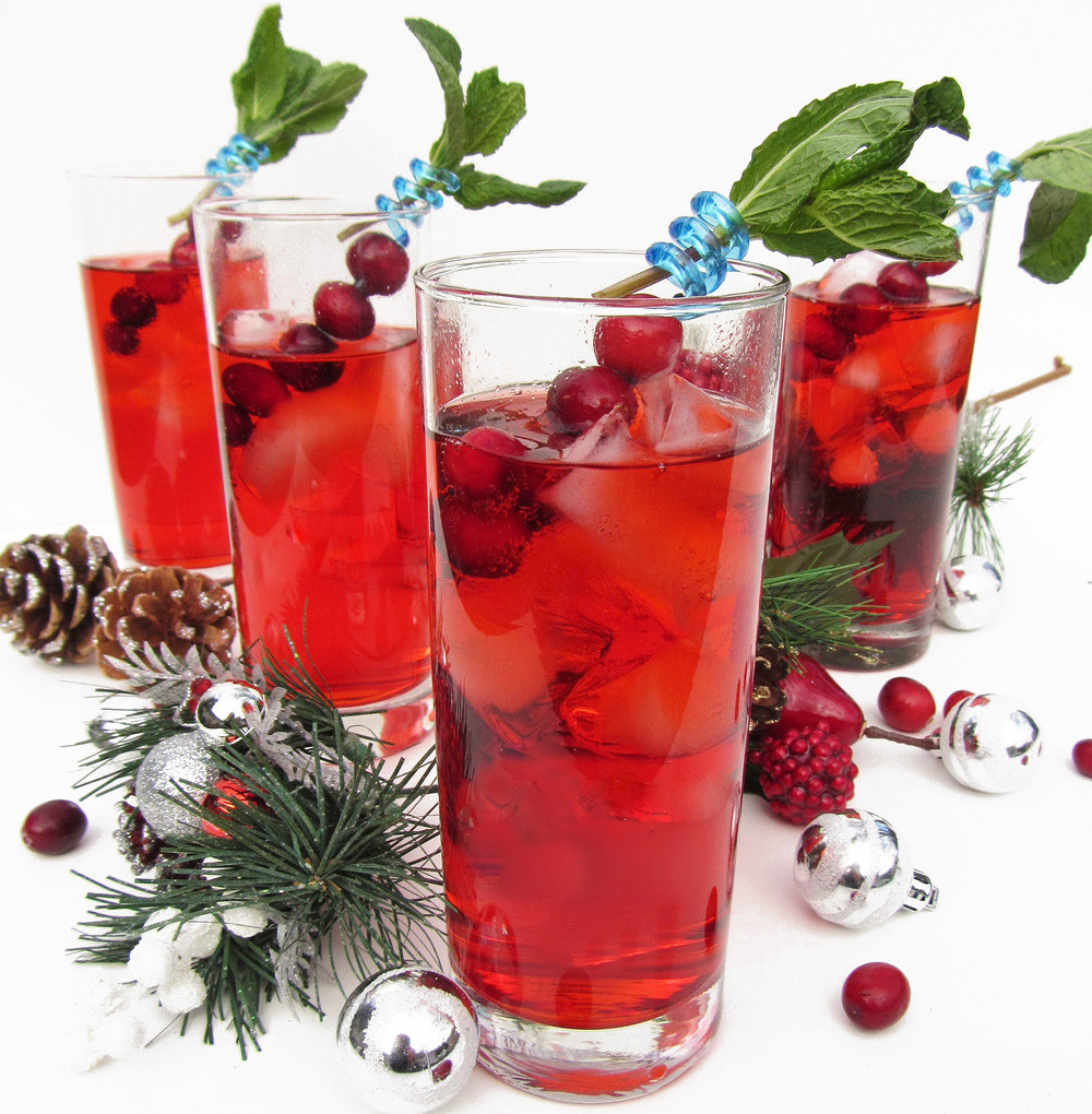 Christmas Drink Recipes With Alcohol  Christmas Mocktails – alcohol free cocktails – Aquarius