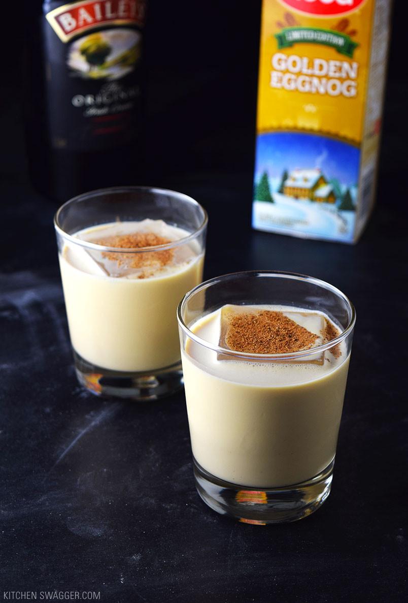 Christmas Eggnog Drink  Eggnog Holiday Cocktail Recipe