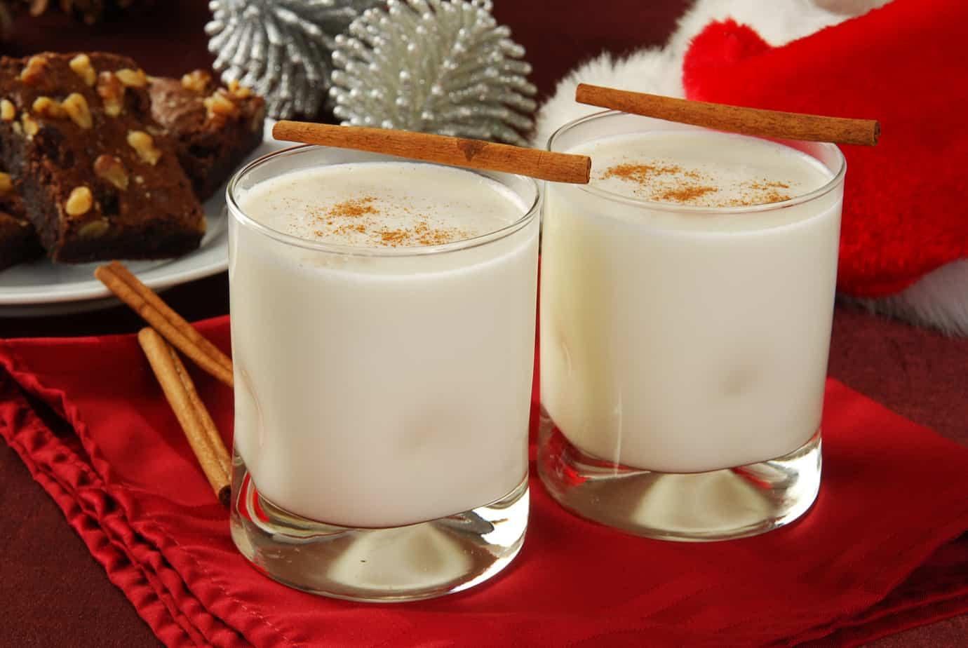 Christmas Eggnog Drink  Healthy Eggnog Recipe