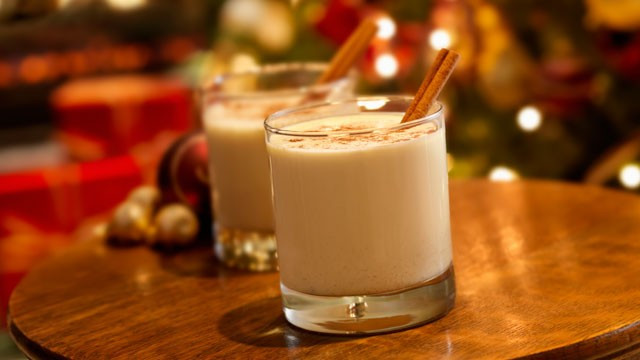 Christmas Eggnog Drink  Making egg nog for the British Boing Boing