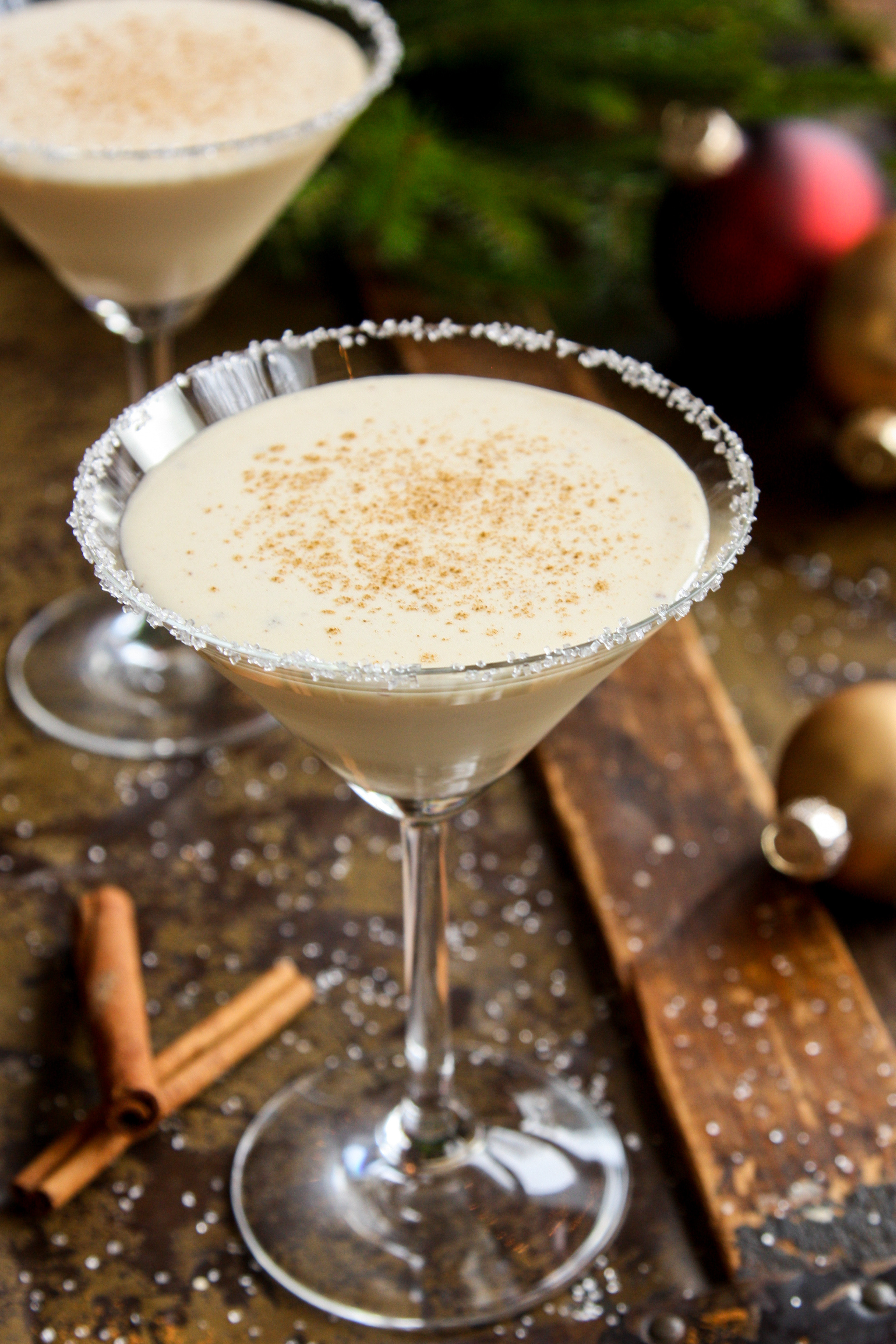 Christmas Eggnog Drink  6 Holiday Cocktails From Influencers Christmas Cocktail
