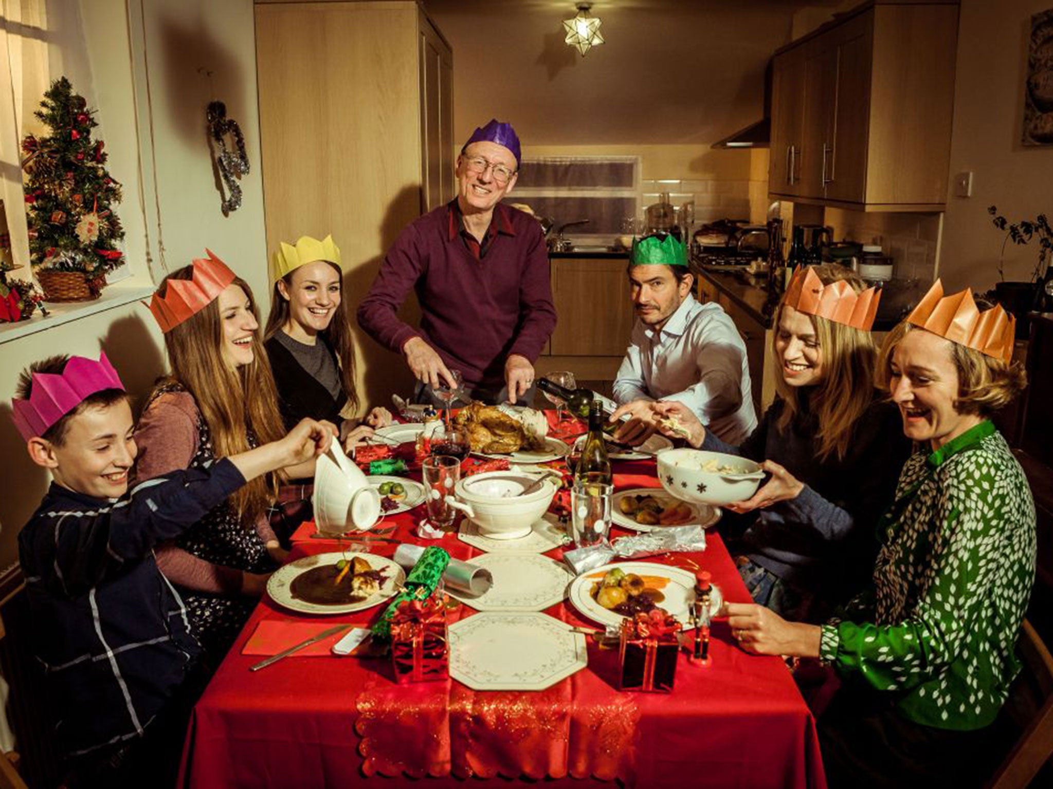 Christmas Family Dinners  Christmas dinner is £5 cheaper this year as food prices