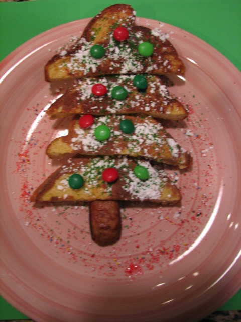 Christmas French Toast  Oh Christmas Tree Happy Home Fairy