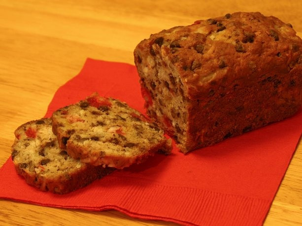 Christmas Fruit Bread  109 best images about Holiday Baked Goods on Pinterest