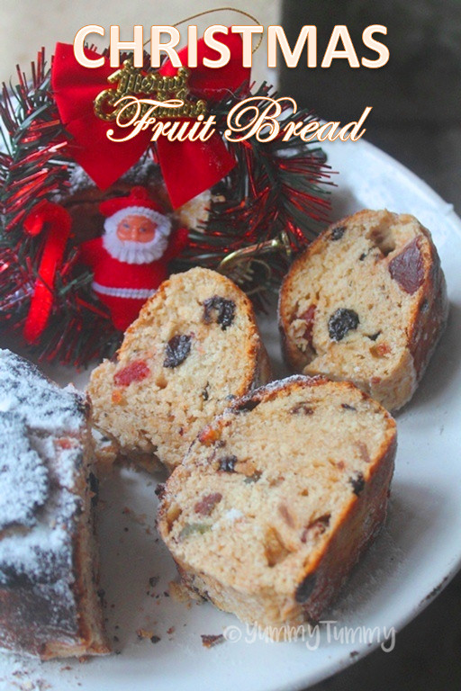 Christmas Fruit Bread  Christmas Spiced Fruit Bread Recipe Fruit Bread Recipe