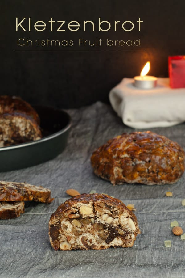 Christmas Fruit Bread  Kletzenbrot Christmas Fruit bread from Tyrol