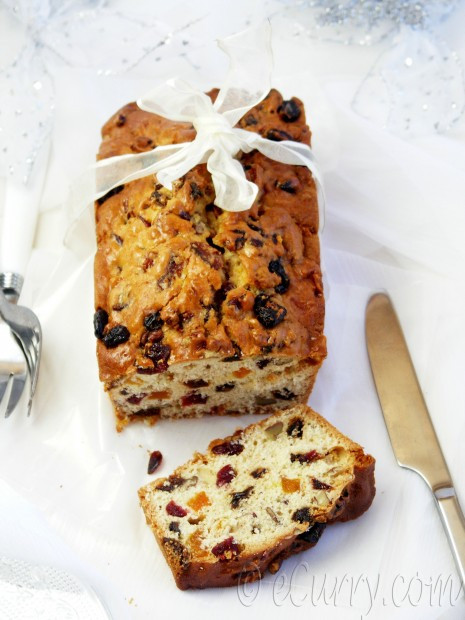 Christmas Fruit Bread  Spiced Fruit Bread