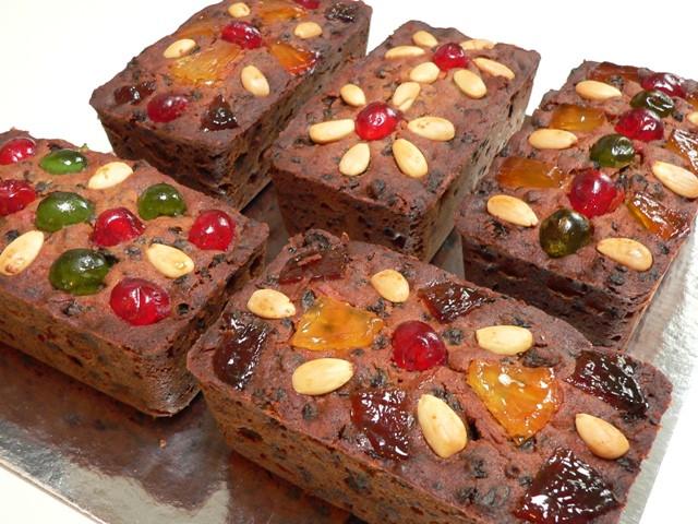 Christmas Fruit Cake Recipe  Mini Christmas Fruit Cakes