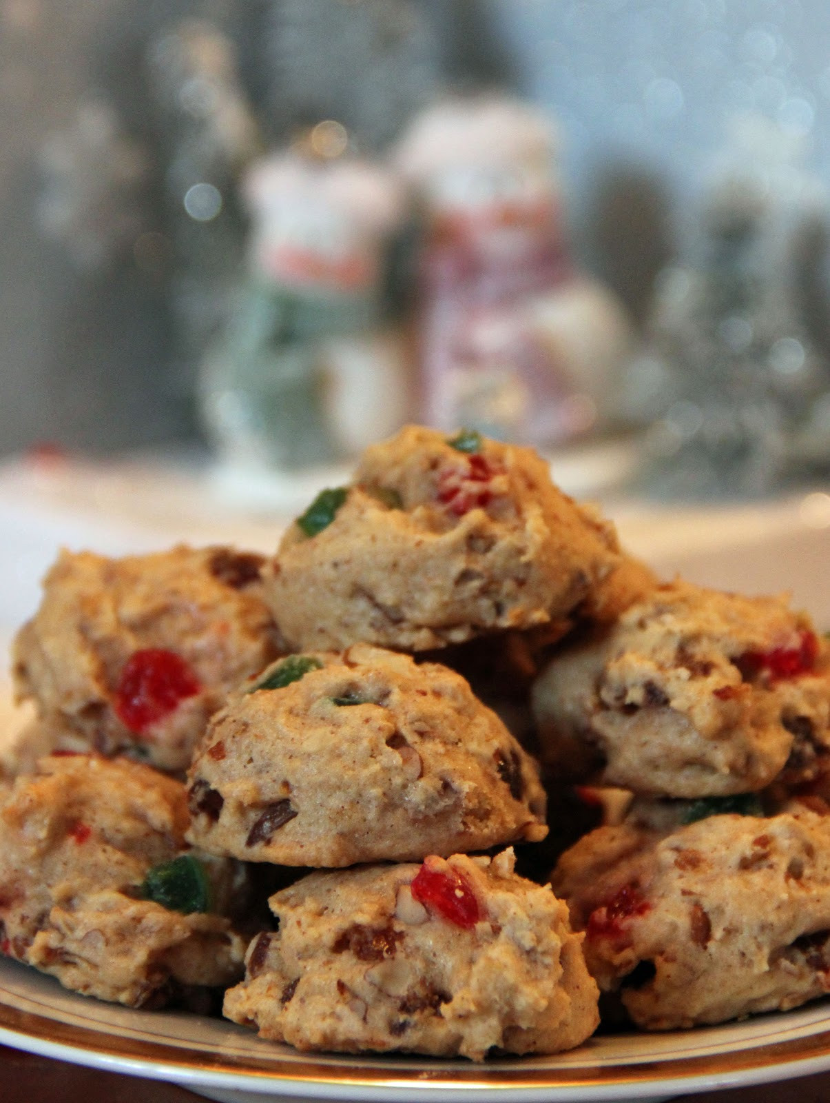 Christmas Fruit Cookies  Jo and Sue Christmas Brunch Smorgastarta