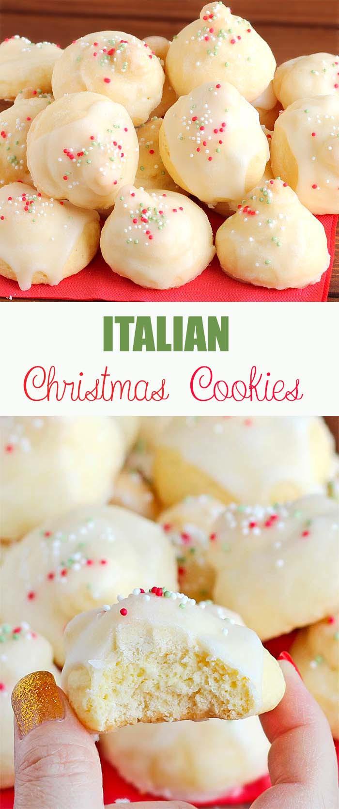 Christmas Italian Cookies  Italian Christmas Cookies Cakescottage